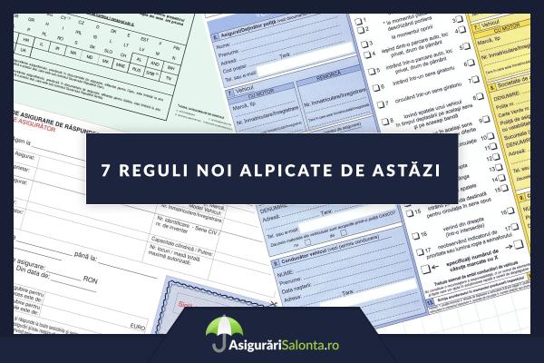 7 Modificari importante pentru asigurarile RCA aplicate de astazi