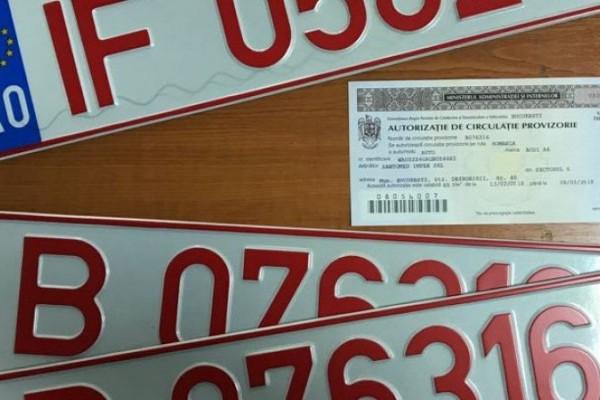 Asigurarea RCA pentru Numere Provizorii