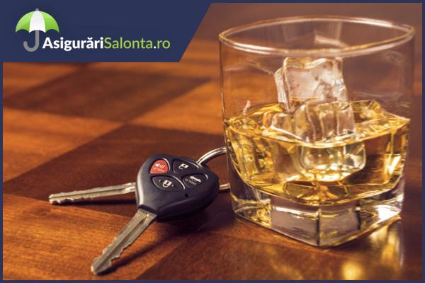 Daunele produse de un sofer care a consumat alcool se despagubesc?