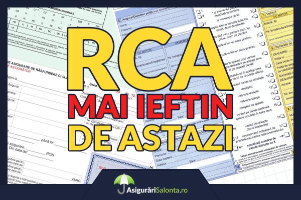S-au ieftinit asigurarile RCA - Cel mai mic pret